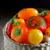 vermelho · tomates · cesta · escuro · suculento · mesa · de · madeira - foto stock © mady70