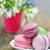 colorful macaroons and spring flowers stock photo © mady70