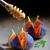 cuchara · de · madera · estudio · bordo · postre · agricultura · cuchara - foto stock © mady70