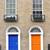 ドア · ダブリン · アイルランド · 家 · 壁 · 赤 - ストックフォト © mady70