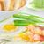 tintahal · sült · sózott · tojások · tavasz · hagyma - stock fotó © mady70