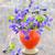 virágok · természet · zöld · növény · kertészkedés · lila - stock fotó © mady70