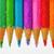 renkli · kalemler · yalıtılmış · beyaz · ahşap · dizayn - stok fotoğraf © mady70