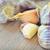beyaz · sebze · ampul · sarımsak · baharat · yalıtılmış - stok fotoğraf © mady70