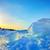 oceano · icebergue · brilhante · sol · ilha · remoto - foto stock © mady70