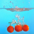 red tomatoes dropped into water stock photo © mady70