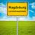 city sign of magdeburg stock photo © magann
