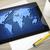 tabel · afbeelding · wereldkaart · business · kantoor - stockfoto © magann