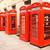 красный · телефон · цвета · Англии · связи - Сток-фото © magann