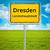 city sign of dresden stock photo © magann