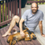man and dog stock photo © magann