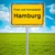 city sign of hamburg stock photo © magann