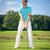 играет · мяч · для · гольфа · гольф · клуба · готовый · выстрел - Сток-фото © magann