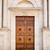 öreg · fából · készült · ajtó · olasz · falu · textúra - stock fotó © magann