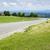 アスファルト · 道路 · 自動 · 自転車 · 森林 · 砂 - ストックフォト © magann