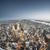 Нью-Йорк · Manhattan · Skyline · черно · белые · Небоскребы - Сток-фото © magann