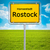 city sign of rostock stock photo © magann