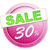 30 · percentagem · taxa · ícone · branco · trinta - foto stock © magann