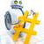 zoete · weinig · robot · man · ontwerp - stockfoto © magann