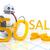 pequeno · robô · vintage · brinquedo · conjunto · saltando - foto stock © magann