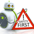 sweet little robot safety first stock photo © magann
