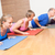 hombre · yoga · ejercicio · casa · sesión · piso - foto stock © magann