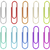 set of multicolored paperclips stock photo © magraphics