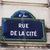 Párizs · jelzőtábla · felirat · jelzőtábla · kiskereskedelem · turizmus - stock fotó © magraphics