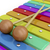 colorful wooden xylophone stock photo © magraphics