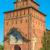 kremlin tower and gate in russian town kolomna stock photo © mahout