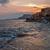 закат · морем · Кипр · пляж · небе · воды - Сток-фото © mahout