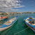 小 · 釣り · ボート · 港 · かわいい · 水 - ストックフォト © mahout