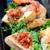 sandwich · groenten · vis · bruiloft · tabel · brood - stockfoto © maisicon
