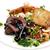 salade · groenten · brand · geïsoleerd · achtergrond - stockfoto © maisicon