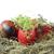 ovos · fresco · verde · três · ovos · de · páscoa · isolado - foto stock © makse