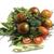 saludable · ensalada · frijoles · frescos · tomates · albahaca - foto stock © makse