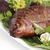 füstölt · hal · közelkép · tányér · frissen · étel - stock fotó © Makse