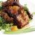 frito · cogumelos · madeira · restaurante · jantar · café · da · manhã - foto stock © makse