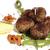 служивший · картофель · маринованный · грибы · продовольствие · фон - Сток-фото © Makse