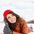 sonho · neve · belo · mulher · jovem · mão · moda - foto stock © mallivan