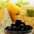 stilleven · olijven · verschillend · kaas · Blauw · groep - stockfoto © mallivan