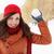 throwing snowball stock photo © mallivan