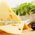 gesneden · kaas · groot · stuk · zwarte · olijven · voedsel - stockfoto © mallivan