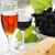fromages · raisins · deux · vin · blanc · verres · isolé - photo stock © mallivan