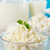 melk · cottage · cheese · kaas · gezonde · vers - stockfoto © mallivan