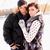 couple on nature in winter stock photo © mallivan