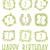 feliz · cumpleaños · tarjeta · plantilla · tarta · de · queso · ilustración · papel - foto stock © mamziolzi