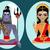 shiva · indiano · deus · ilustração · escrito · significado - foto stock © mamziolzi