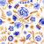 цветы · акварель · шаблон · цветочный · закрывается - Сток-фото © mamziolzi