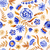 bloemen · aquarel · patroon · steeg - stockfoto © Mamziolzi